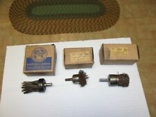 Valve Seat Grinder Parts Sioux Carbon Removing Brushes Nos