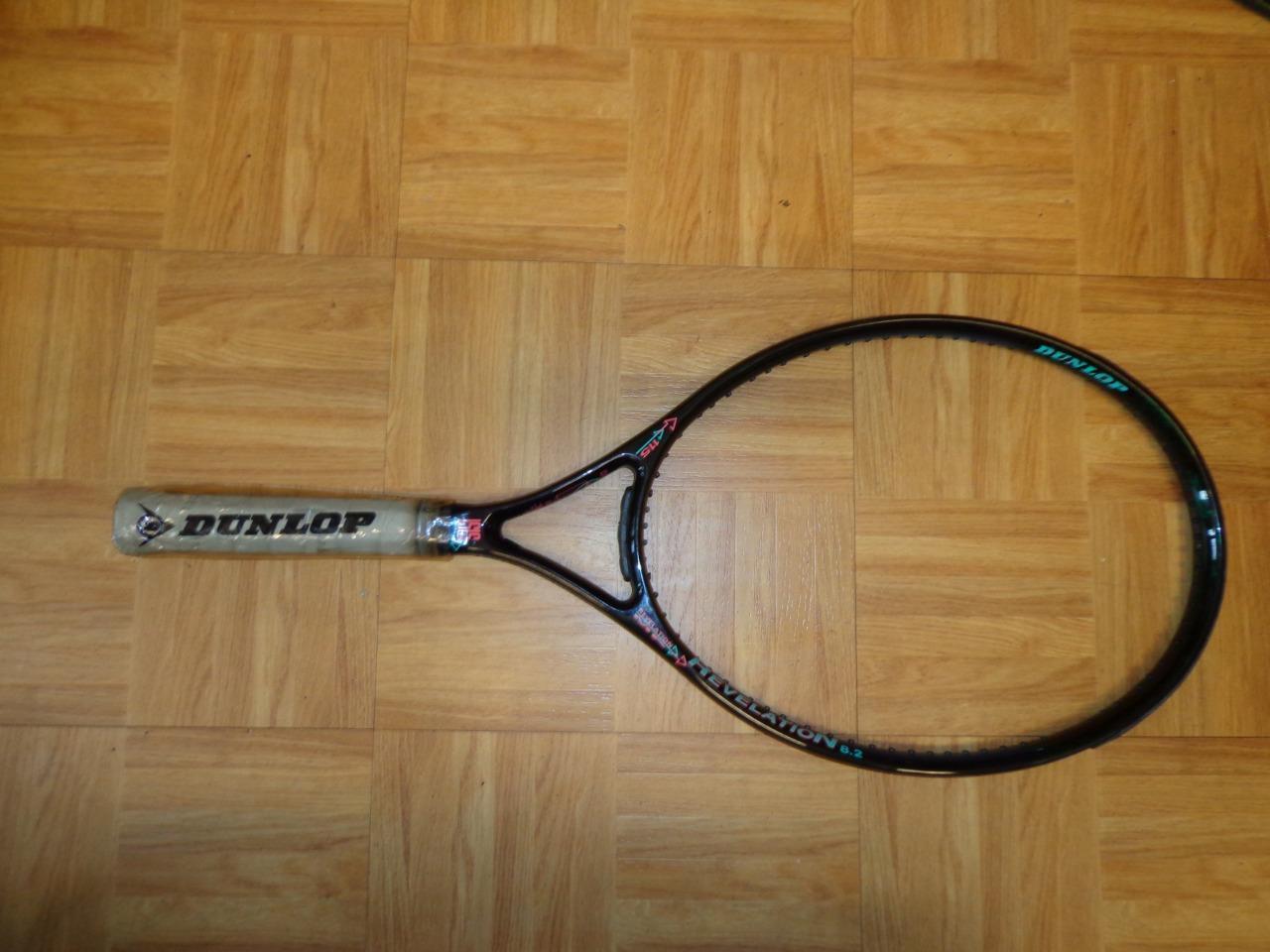 Nuevo viejo Dunlop Mediados  de perfil revelación 115 cabeza 4 3 8 Grip Tenis Raqueta  bienvenido a elegir