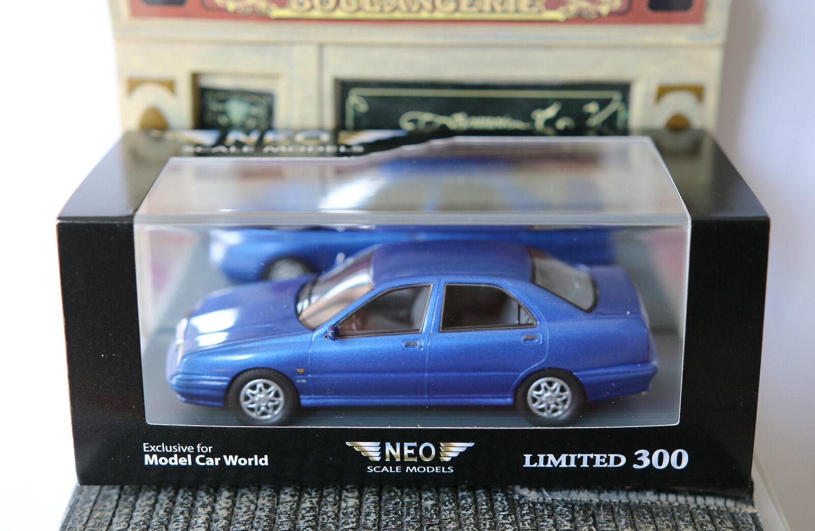 Lancia kappa 2.0 turbo 1994 blaue metall neo - 44966 1   43 blau blwu unerläßlich linke