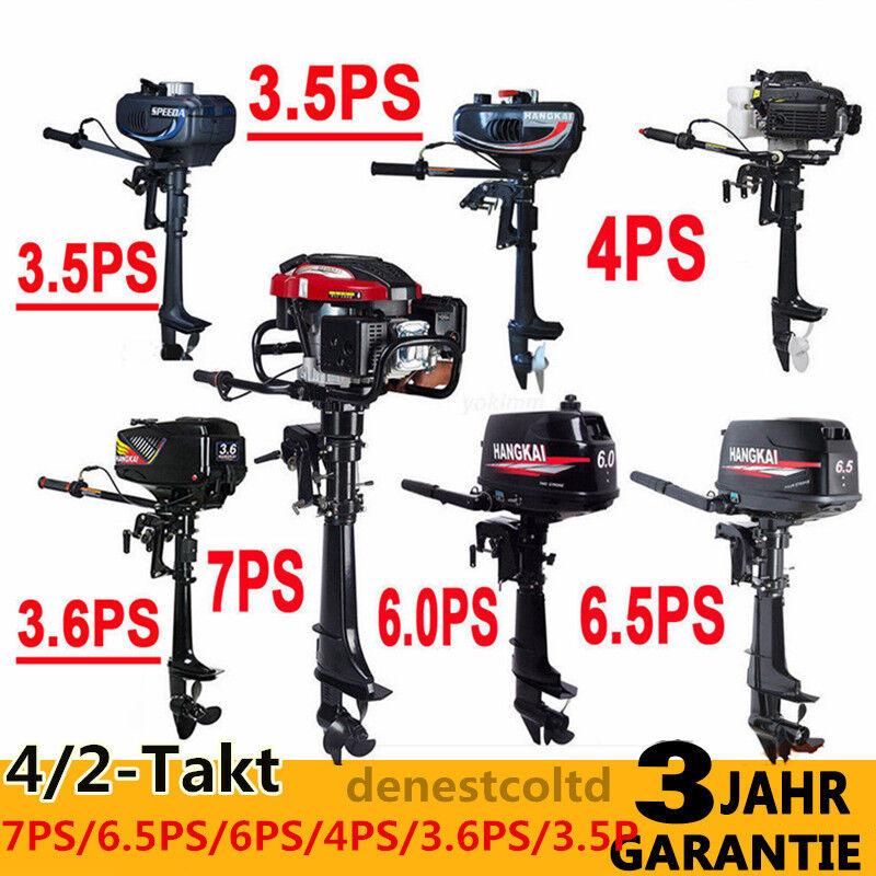 3,5-7PS Außenborder Stiefelmotoren Stiefelport Außenbordmotor 4/2-Takt Benzinmotor Stiefelport Stiefelmotoren 157f30