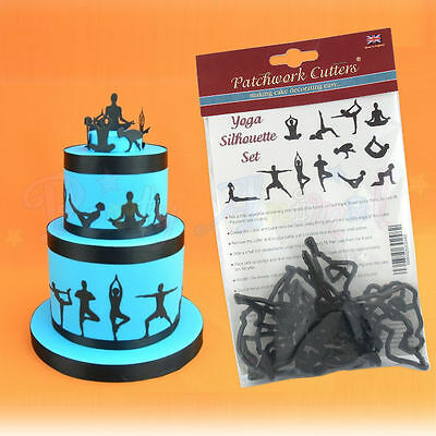 Patchwork Cutters - SILHOUETTE SETS - for cake decoration, embossing and toppers