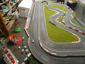 Tire-barriers-for-your-HO-Slot-Car-Layout-scenery-AFX-Tyco-Auto-World