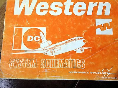 McDonnell Douglas DC-10 Series 10 Wiring Schematic Manual | eBay on
