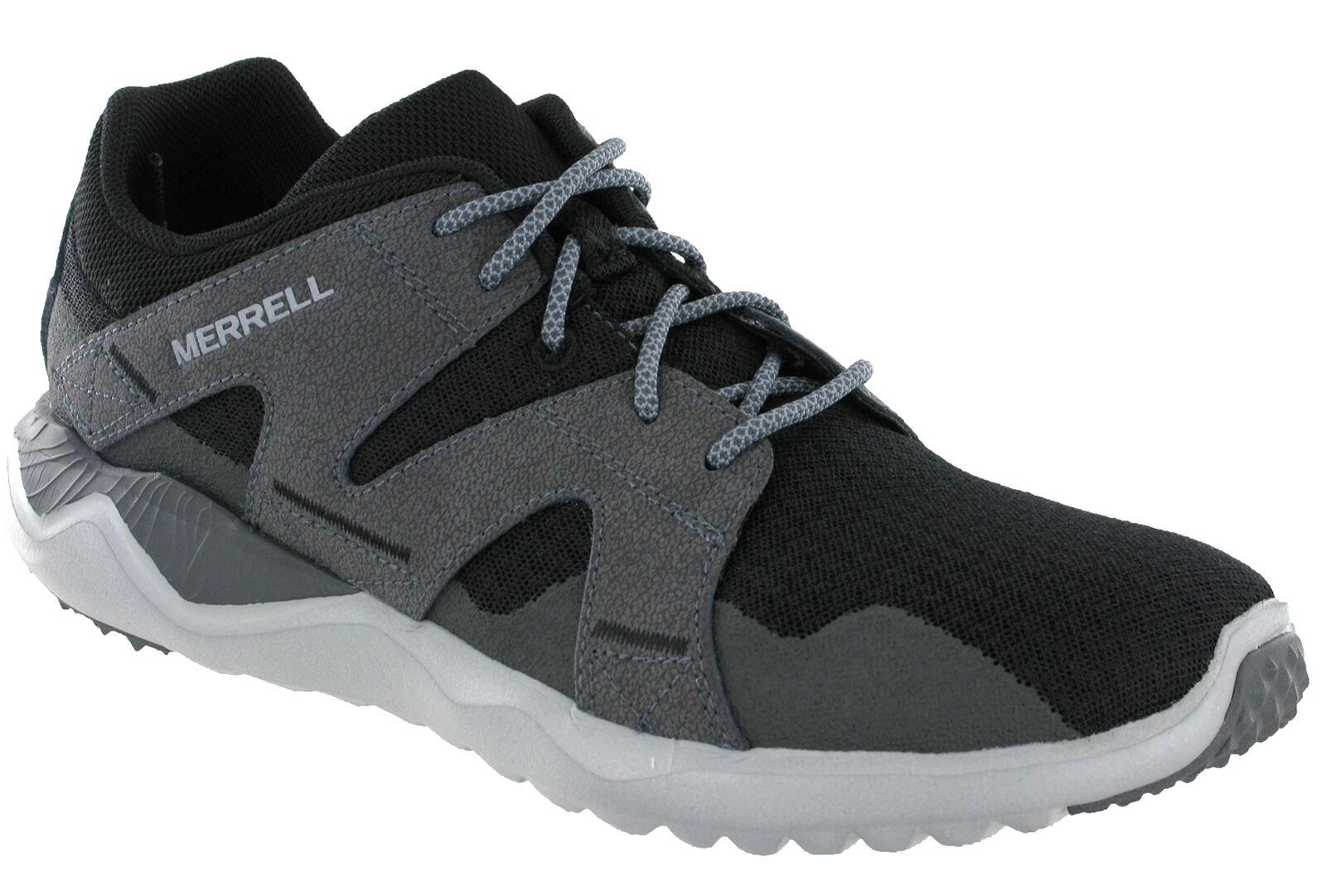 Merrell 1six8 rojo zapatillas de deporte caballero leves transpirable calzado deportivo j91355