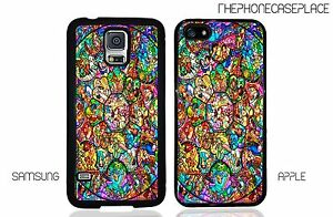 separation shoes 72d10 768e9 Details about Disney Stained Glass Characters Phone Case for Apple or  Samsung Phone Case Cover
