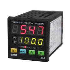 Ta4 Rnr Digital Pid Temperature Controller Control 1 Alarm Relay Output Tcrtd