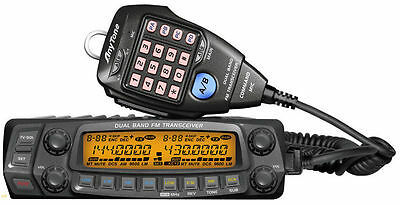 Anytone AT-588UV Dual Band Mobile Two Way Amateur Radio 136-174Mhz & 400-490Mhz
