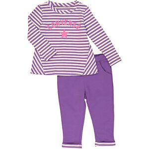 ef53ffe2870e Image is loading CONVERSE-Purple-Striped-Top-amp-Leggings-Two-Piece-