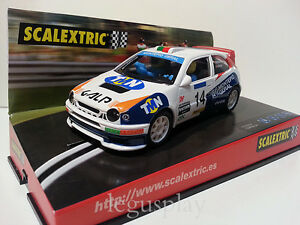 Emplacement Scx Scalextric 6014 Toyota Corolla Galp R. Madère / N. Silva