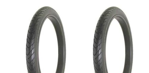 "2 TUBES PAIR OF BICYCLE 26/"" X 3.0 BICYCLE BIKE TIRES SLICK ALL BLACK DB-1012"