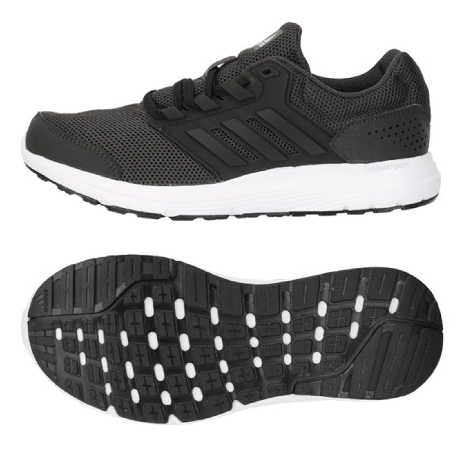 Zapatos De Entrenamiento Adidas Mujer Galaxy 4 que ejecutan Tenis Atléticas Yoga Negro BY2846