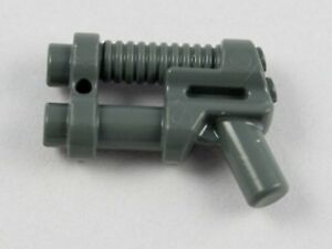 LEGO Lot of 2 Dark Bluish Gray Western Minifigure Pistols