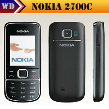Practical Black Nokia 2700 (Unlocked) Mobile Phone 2MP MP3 Classic Phone GSM