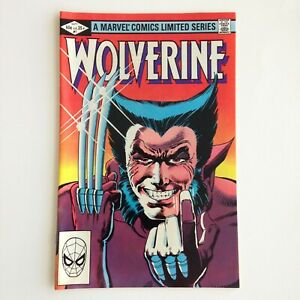 Wolverine-Limited-Series-1-Sept-1982-Marvel-Comic-Book-Unread-You-Pick-NICE