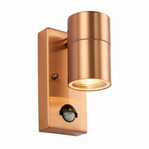 SALE~ Up Down Outdoor Porch Outside Wall Garden Lights PIR Motion Sensor ~COPPER