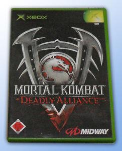 XBOX-Spiel-MORTAL-KOMBAT-DEADLY-ALLIANCE-USK-18-TOP-TITEL