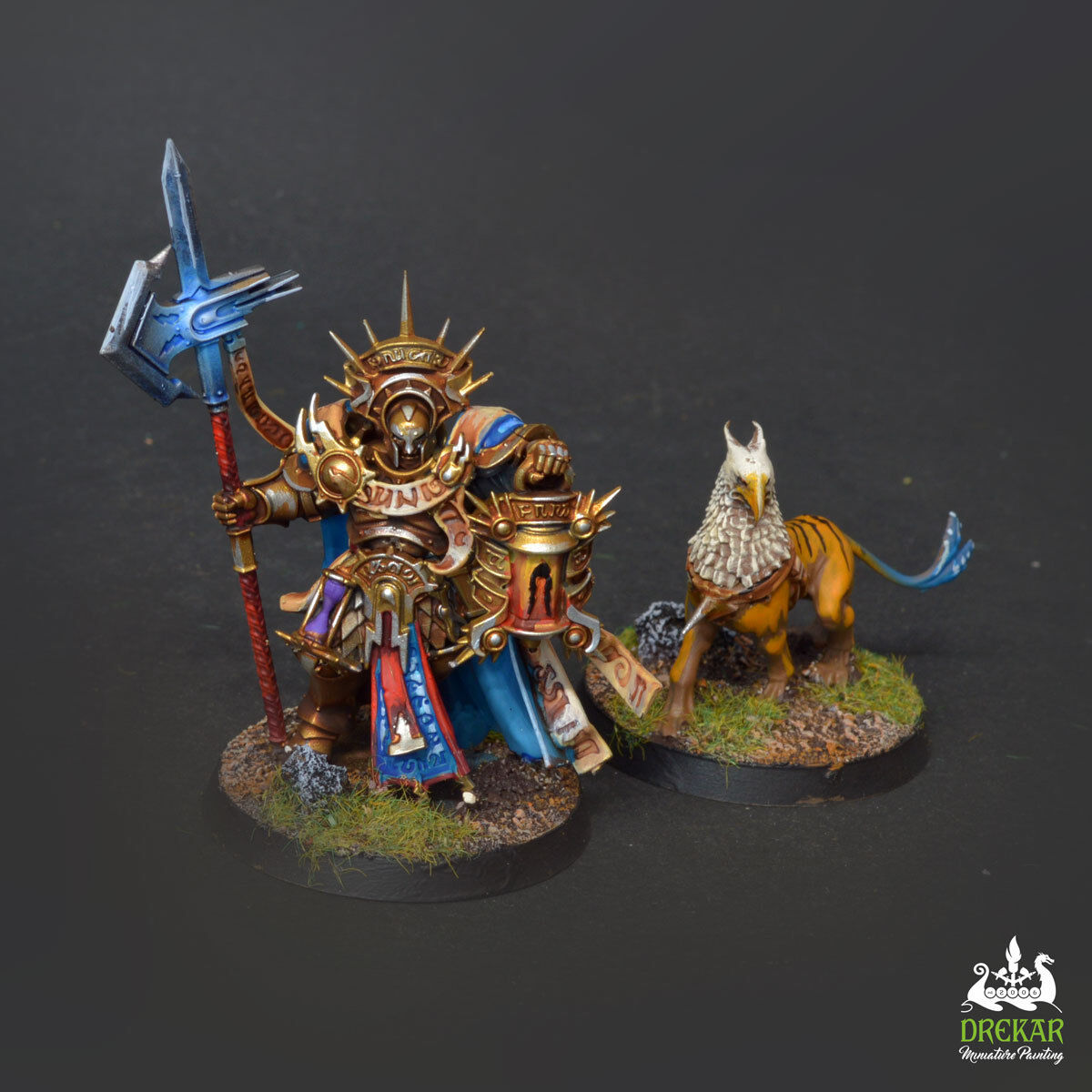 Lord Castellant Stormcast - age of sigmar COMMISSION  pro painting