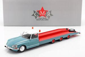 Citroen-DS-Tissier-Autotransporter-blau-weis-rot-Baujahr-1970-1-18-CMR