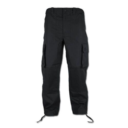 Kommando Feldhose Lightweight Hose Kommandohose schwarz mit 5 Taschen
