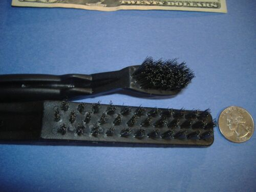 LOT OF TWO STAINLESS STEEL DETAIL AND MINI BRUSH PARTS CLEAN
