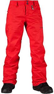 Pantaloni-da-Sci-e-Snowboard-Neve-Donna-Volcom-Boom-Isolato-Pantaloni-TAGLIA-S