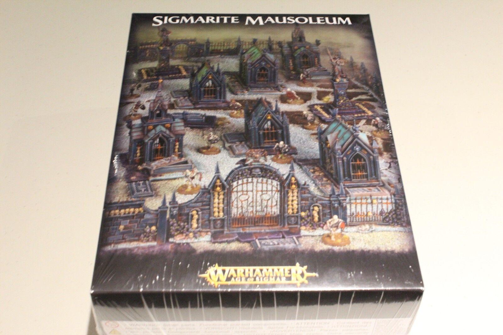 Warhammer fantasy sigmarite mausoleum neue