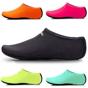 9fb7da50b7730f Slip on Water Shoes Skin Shoes Surf Aqua Socks Yoga Exercise Pool ...