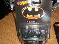 Hotwheels Nuevo 2017 Retro Batman Batmobile aleaciones y Neumáticos De Goma Real Rider