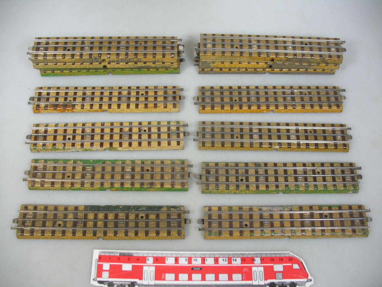 AM719-2 x Märklin H0  00  AC Piezas de vía Carriles M Pista F. 3600 800 antes