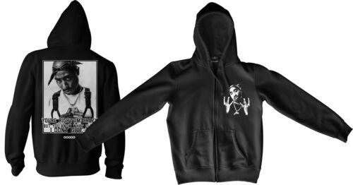 Tupac Zipperjacke M2-2Pac Makaveli West Coast Hip Hop Swag Dope Asap RIP