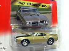 Johnny Lightning Muscle Cars U.S.A.1967 Pontiac Firebird 400 W/ Collector Card