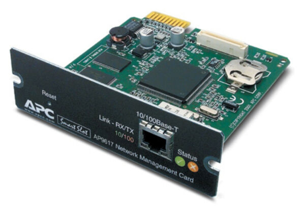 Apc Ap9617 Network Interface Card Nic For Ups - Fully Reset- 12m Rtb Materialen Van Hoge Kwaliteit