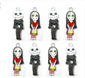 Lot New Nightmare Before Christmas Charm Pendants DIY Jewelry Making Accessories
