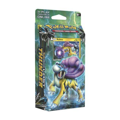 Pokemon Center Original TCG Sun /& Moon-Lost Thunder Storm Caller Theme Deck