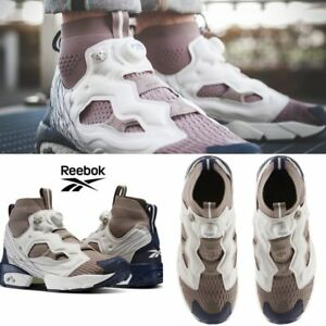 8a225a1c1bbbcb Reebok InstaPump Fury OG ULTK TL Shoes Sneakers Grey Beige Navy ...
