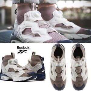 55e97f1176a Reebok InstaPump Fury OG ULTK TL Shoes Sneakers Grey Beige Navy ...