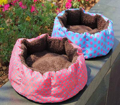 Pet Dog Puppy Cat Kitten Plush Fleece Bed Soft Cushion Nest Pad House Mat