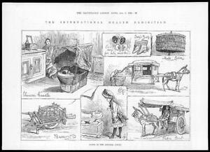 1884-Antique-Print-International-Health-Exhibition-Chinese-Court-Medicine-41