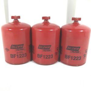Fuel-Water-Separator-Filter-Baldwin-BF1223-Set-of-3