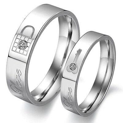 Anillo De Pareja Compromiso Matrimonio Boda Colecciones En Ebay