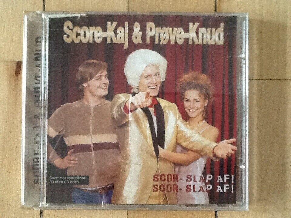 Score-Kaj og Prøve-Knud: Scor - Slap Af!, hiphop