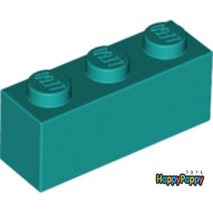Lego 6x Stein 1x3 Dunkel Türkis Dark Turquoise Brick 3622 Neuware New