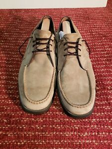 Authentic Vintage Made In Usa Hush Puppies Mens Sz 13 Shoes W Soft