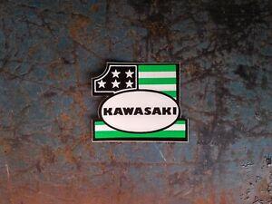 KAWASAKI-1-STARS-N-STRIPES-VINTAGE-DECAL-STICKER-2-5-034-X-2-034-Canadian-Seller