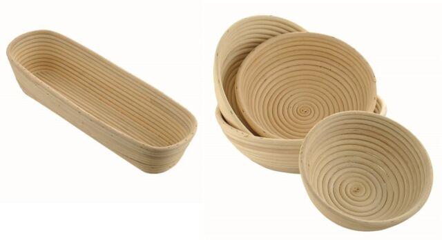 Gärkorb Gärkörbe Brotform Peddigrohrform Peddigschalen rund - oval 0,5-2,0 kg SA