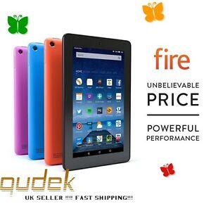 Amazon-Kindle-Fire-7-pulgadas-8GB-Wi-Fi-Tablet-5th-Gen-Reino-Unido-Stock-Negro