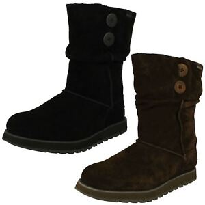 Details about Womens Skechers Winter Boots Freezing Temps