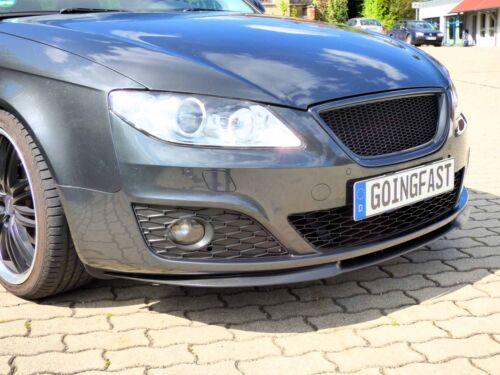 Seat Exeo Front Bumper Cup Chin Spoiler Lip Sport Valanc Splitter Cupra R