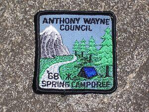 BSA-Boy-Scout-Anthony-Wayne-Council-1968-Patch-Boy-Scout-Patch-Vintage