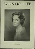 Pamela Rose Mary Savill Chilton Manor Candover 1960 1 Page Photo Article